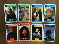 Carte Star Wars Leclerc & Lucasfilm Ltd 2018 * Lot de 9 * TBE