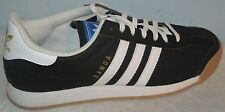 MEN'S ADIDAS SAMOA ORIGINALS BLACK/WHITE ATHLETIC SHOES SIZE 11