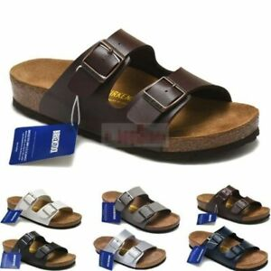Stock Birkenstock Arizona Unisex Sandals Birko-Flor Yara Crossed 2021 NEW