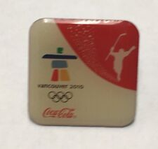 Collectible 2010 Vancouver Olympics Coke Coca-Cola Olympic Ice Hockey Lapel Pin