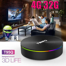 T95Q Tv Box 4K S905X2 4G 32G Dual Wifi Android8.1 3D 4K Media Player Us K7V8O