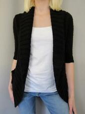 Urban Outfitters Sweater XS Womens Black Cardigan Open Pins And Needles