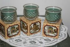 Vintage Avon.Spice Cupboard Candle.Lot Of Three