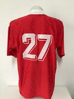 maglia calcio vintage num.27 tag.XL shirt trikot soccer maillot MC318