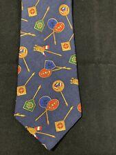 D1 Vintage Tommy Hilfiger Neck Tie Italian Silk Necktie Nautical Sailing Gear