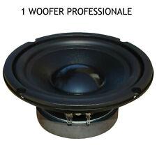 "1 MASTER AUDIO MA16W/8 woofer professionale 6,5"" 150 watt rms sospensione gomma"
