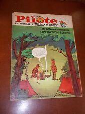 """JOURNAL """"PILOTE no 361"""" (1966) PILOTORAMA - LES SCYTHES + CADEAU"""