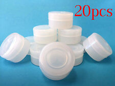 20 NonStick 5ml Silicone Jar Containers Clear New Ball 5 ml wholesale