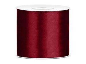 Satin Ribbon 82 0/12ft x 2 15/16in (0,60 €/ M) Decoration Wedding Band