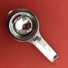 Egg Yolk Separator - Hand Held Stainless Steel Cooking Utensil Tool