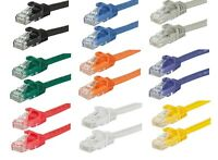 FlexBoot Cat6 UTP LAN Internet Network Ethernet (Cat-6) Cable Cord Cat 6 RJ45