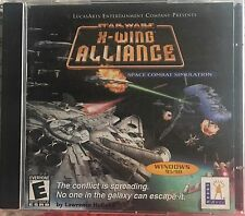 Star Wars X-Wing Alliance PC CD-Rom LucasArts Space Combat Simulation