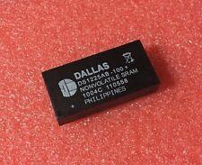 DALLAS DS1225AB-100+ DS1225AB-100 NVRAM 64k Nonvolatile SRAM DC# 1004C