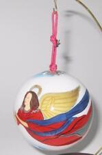"Li Bien, Flying Angel, Ball Glass Christmas Ornament, 3""   Signed & L Ed."