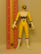 1998 Bandai Power Rangers Lost Galaxy Yellow Ranger Action Figure Female Rare