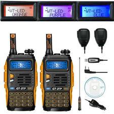 2×Baofeng GT-3 TP Mark III +2×Speaker +Cabel Vhf Uhf 1/4/8W Emisora Transceptor