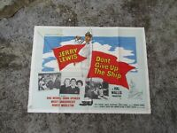 Vintage Movie poster - Original - Don't give up the ship 101 x 75 cm - 1950's