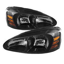 Pontiac 04-08 Grand Prix Black Housing Replacement Headlights GT GTP GXP