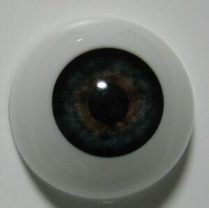 Reborn doll eyes 24mm Half Round  DEEP BLUE