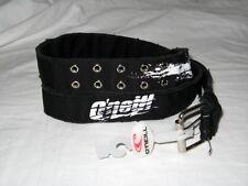 "BNWT - O'NEILL Canvas Cotton Webbing Belt  Black     36 "" - 38 "" Waist"