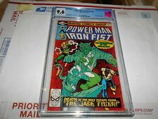POWER MAN & IRON FIST #66 CGC 9.6 2ND SABRETOOTH (WHITE PAGES )