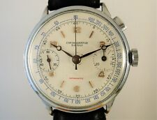 Chronographe Suisse Vintage monopulsante, Landeron Hahn, anni '40