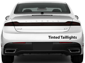Lincoln MKZ 2013-2021 Taillight, Stop Lamp & Side Marker Tint w/Air Release Matl
