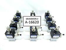 Koganei F-AVP125-19W Chemical Valve Photoresist TEL Lithius Lot of 12 Working