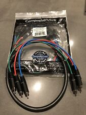 Comprehensive RGB/Component Video Cable; 3'