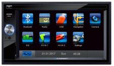 Blaupunkt Santa Cruz 370 EU Prof. 2-DIN Navigation Touchscreen DAB Bluetooth TMC