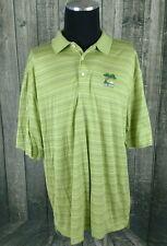 Walter Hagen Men Green Cotton SS 2008 US Open Torrey Pines Golf Polo Shirt Sz XL