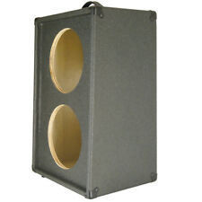 2x10 Vertical Guitar Speaker Empty Cabinet Charcoal black Tolex
