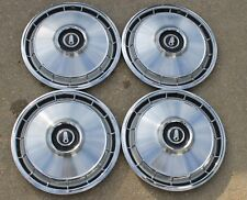 """OEM 1966 1967 Plymouth Valiant Barracuda 13"""" Hubcaps Set Of Four 2781550"""
