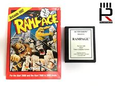 RAMPAGE ATARI 2600 / 7800 PAL genuine, complete & tested! EXCELLENT!! RARE!!