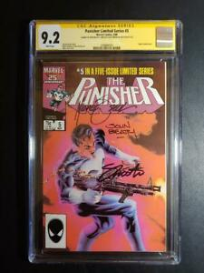 PUNISHER LIMITED SERIES #5 CGC 9.2 SS BEATTY, SHOOTER AND ZECK!