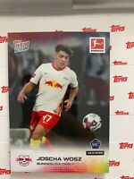 2020-21 Topps Now #20 JOSCHA WOSZ RB Leipzig Rookie Soccer Card RC SP /892 Debut