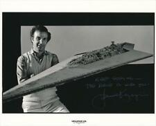Howard Kazanjian Rare Signed Star Wars 8x10 Photo Producer Return of the Jedi