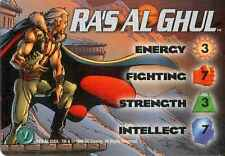 OverPower: Ra's Al Ghul 4-Grid Character Card [Ungraded] - CCG Marvel DC Image