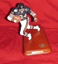 Walter Payton Danbury Mint 8 inch ceramic Figure Chicago Bears Rare