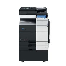 Konica Minolta Bizhub C754 A3 Color Laser Copier Printer Scanner Mfp 75 Ppm C654