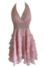 Nuevo vestido de capa cuello ASOS Rosa Tamaño 8, 10