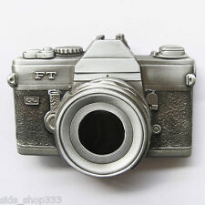 BRAND NEW Raised detail CAMERA PHOTO PICTURE CLASSIC BELT BUCKLE Photography