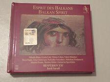 ESPRIT DES BALKANS BALKAN SPIRIT JORDI SAVALL COFANETTO CD MUSICALE + LIBRO