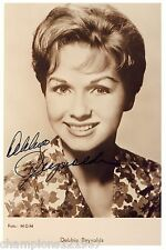 Debbie Reynolds ++Autogramm++ ++Bodyguard++