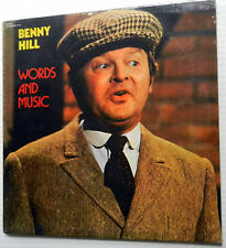 BENNY HILL words and music SEALED LP