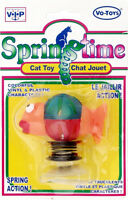 SpringTime Bass Cat Toy Vinyl/Plastic with Suction Cup Bottom Lot Of 12