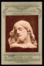 1903 Circulo de Bellas Artes Seccion de Escultura museum Spain postcard