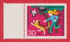 Bund 1972 - Jugend, Tierschutz - Mädchen schützt Vögel - Mi-Nr. 713 postfrisch