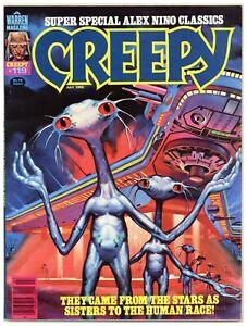 Creepy 119 Alex Nino super special horror science fiction 1980 Warren (j#6443)