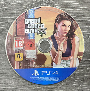 GRAND THEFT AUTO V 5 SONY PLAYSTATION 4 GAME - DISC ONLY